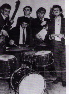 Vernon in Joe Cocker's band. Sheffield 1965