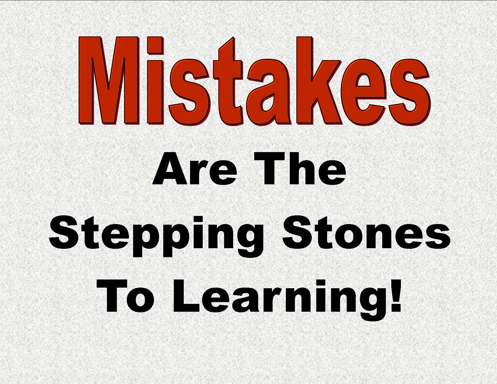 learn from mistakes meme