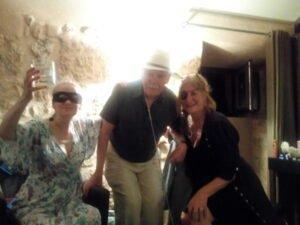 Vernon's 73rd Birthday with friends, Sue & Jane